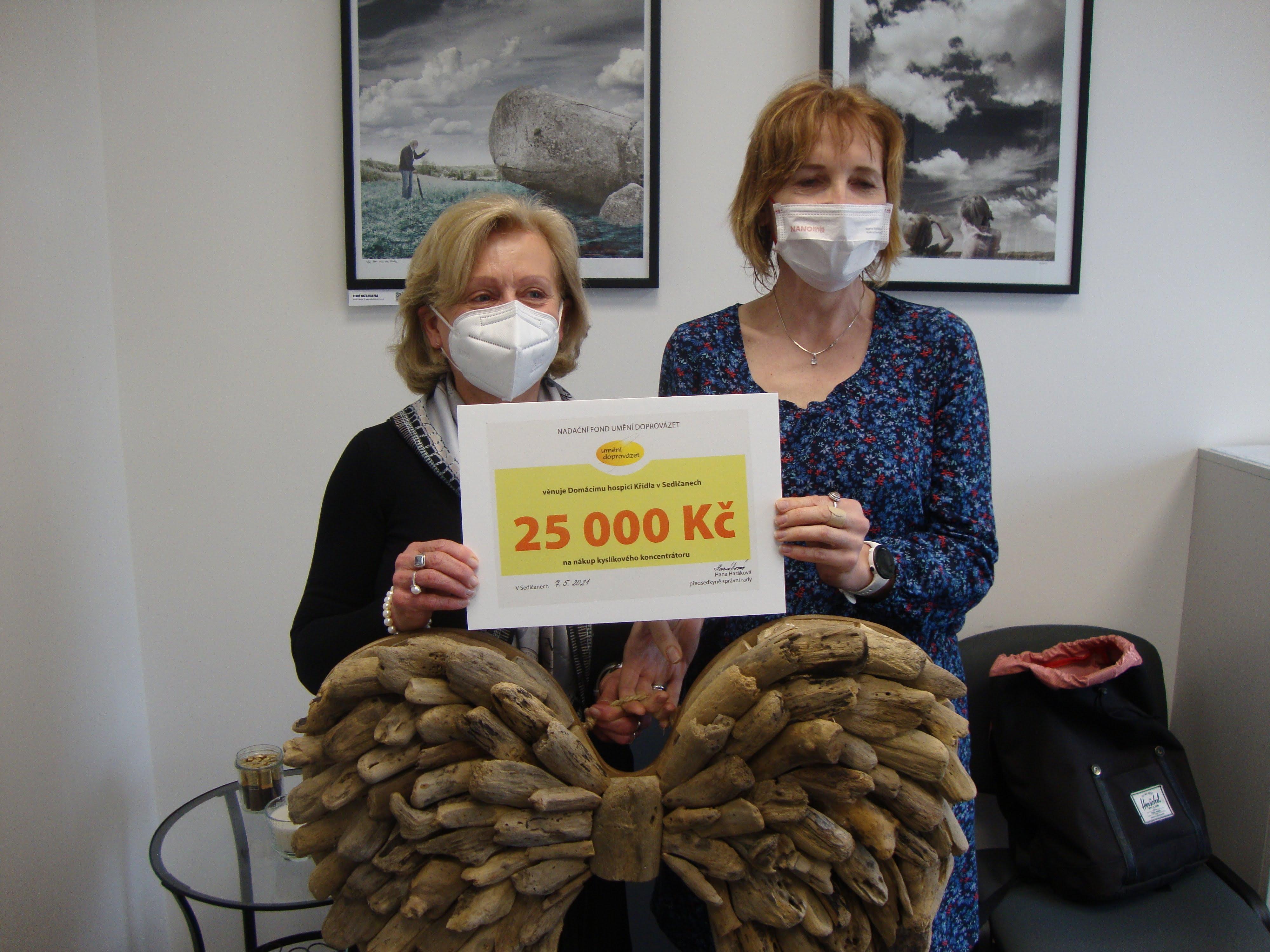 Domácí hospic Křídla v Sedlčanech od nás získal lineární dávkovač léků
